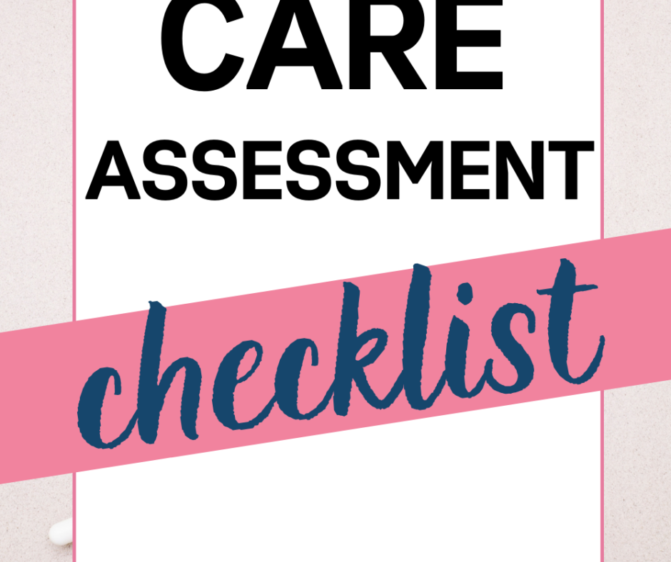 Self Care Assessment Checklist For Your Sanity