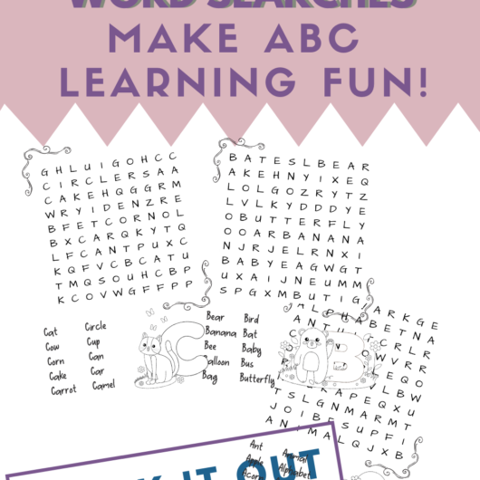 ABC Word Searches Makes ABC Learning Fun