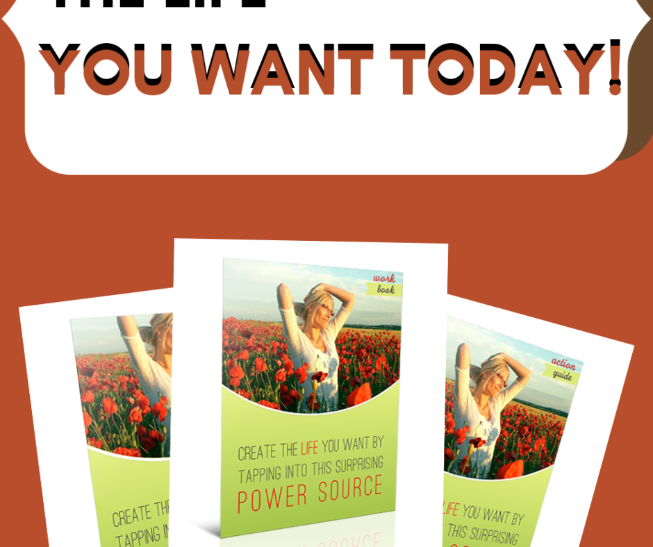 Create The Life You Want TodayGuide, Workbook, and Action Guide Bundle