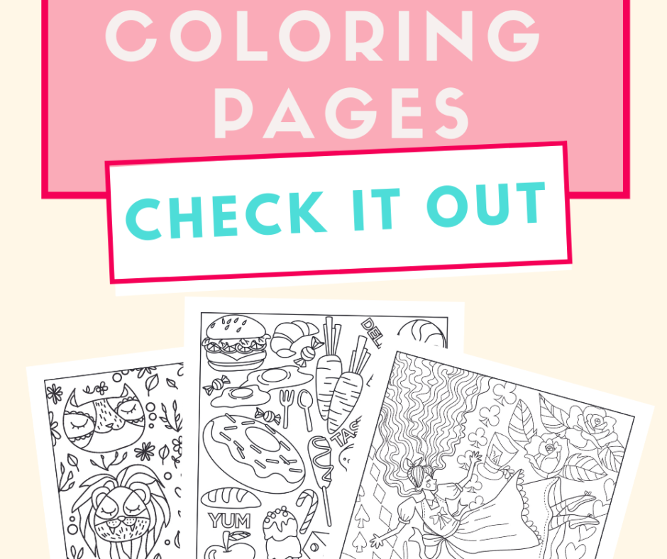 Juicy July Coloring Pages