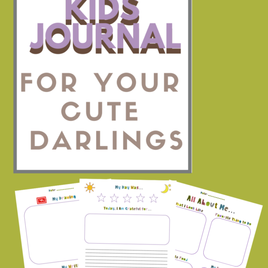 Kids Journal For Your Cute Darlings