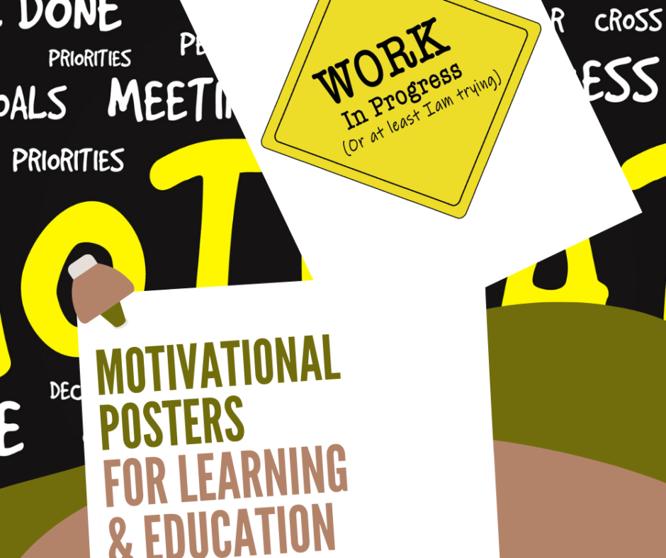 Motivational Posters For Learning And Education