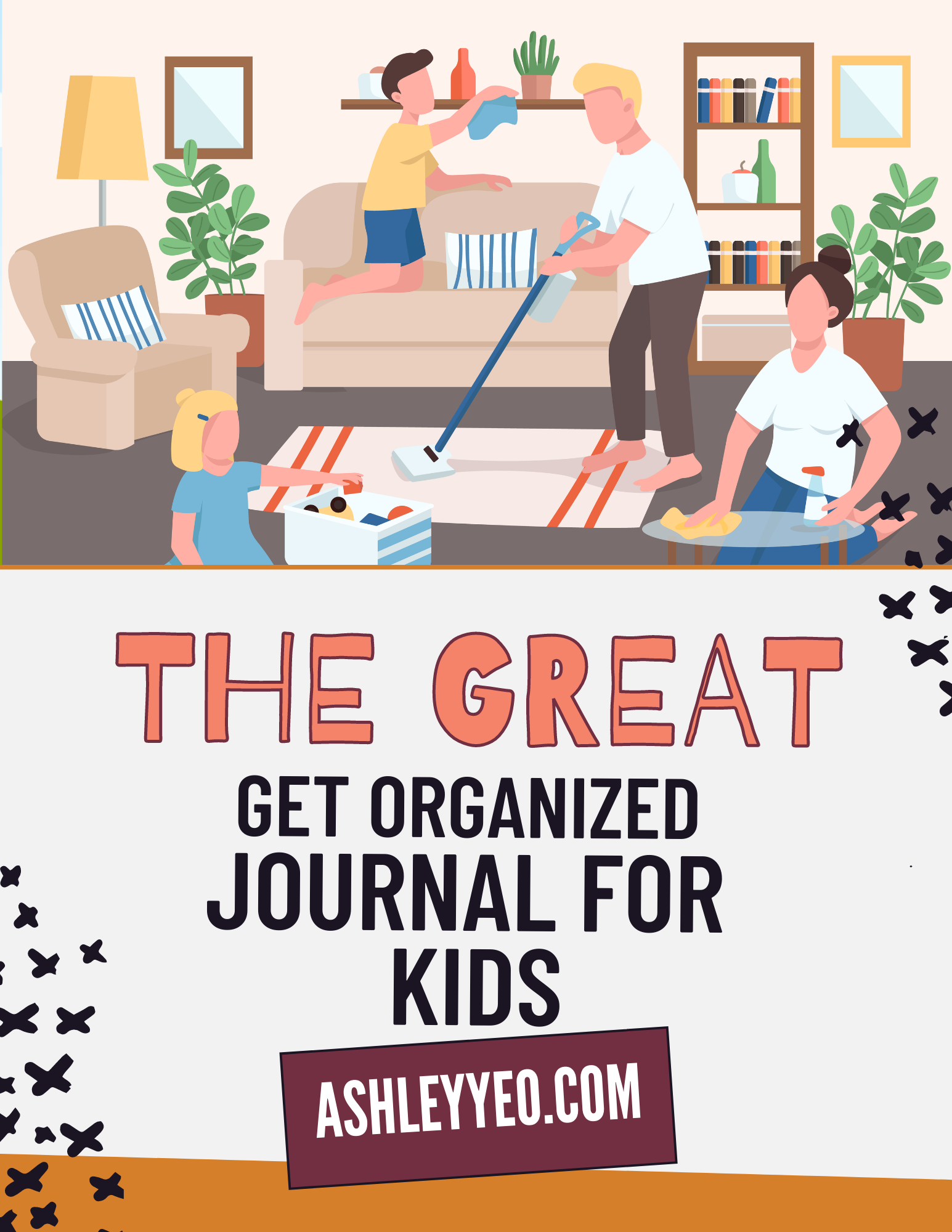 Great Get Organized Journal For Kids