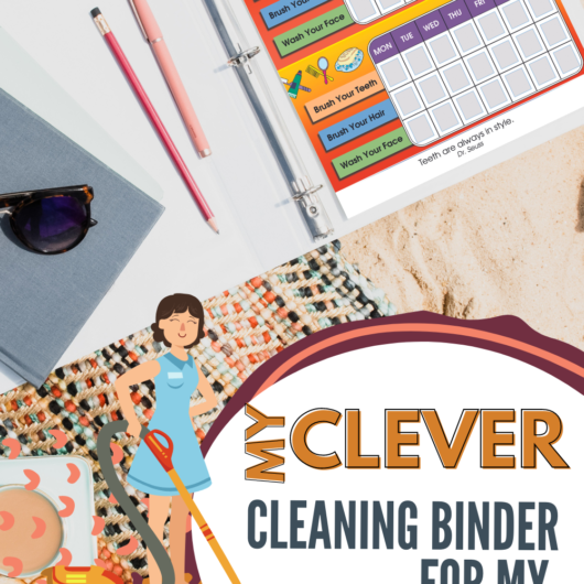 Clever Cleaning Binder Colorful Version