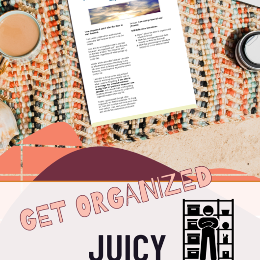 The Great Get Organized Journal Prompts