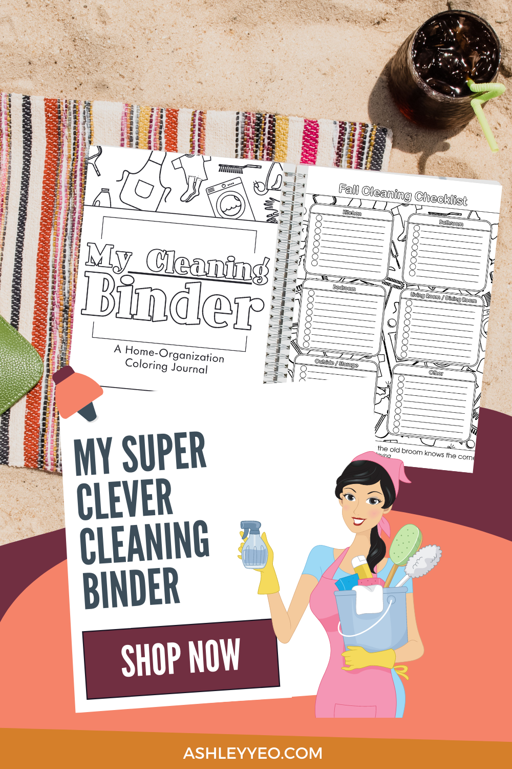 The Clever Cleaning Binder