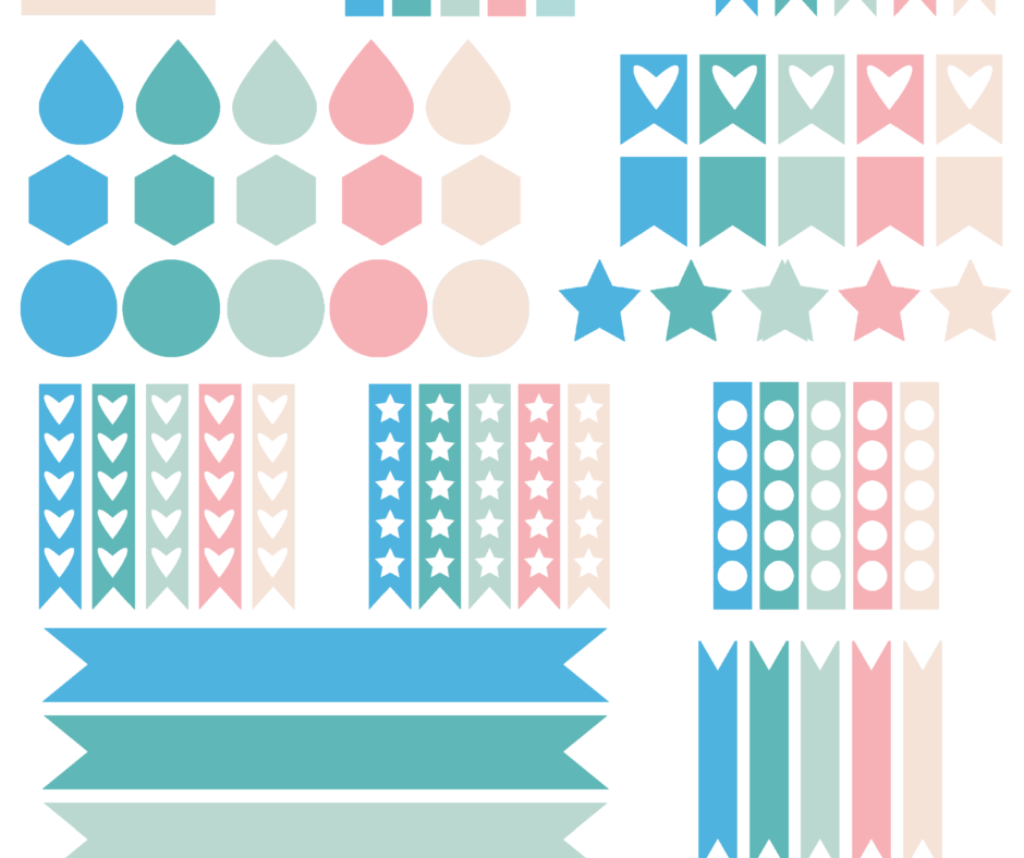 Gift - Day 3 Giveaway - Planner And Planner Sticker Printables