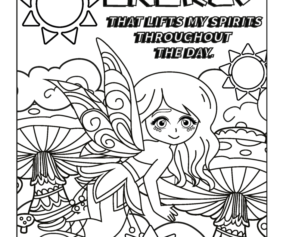 Gift - Day 5 Giveaway - Coloring Pages