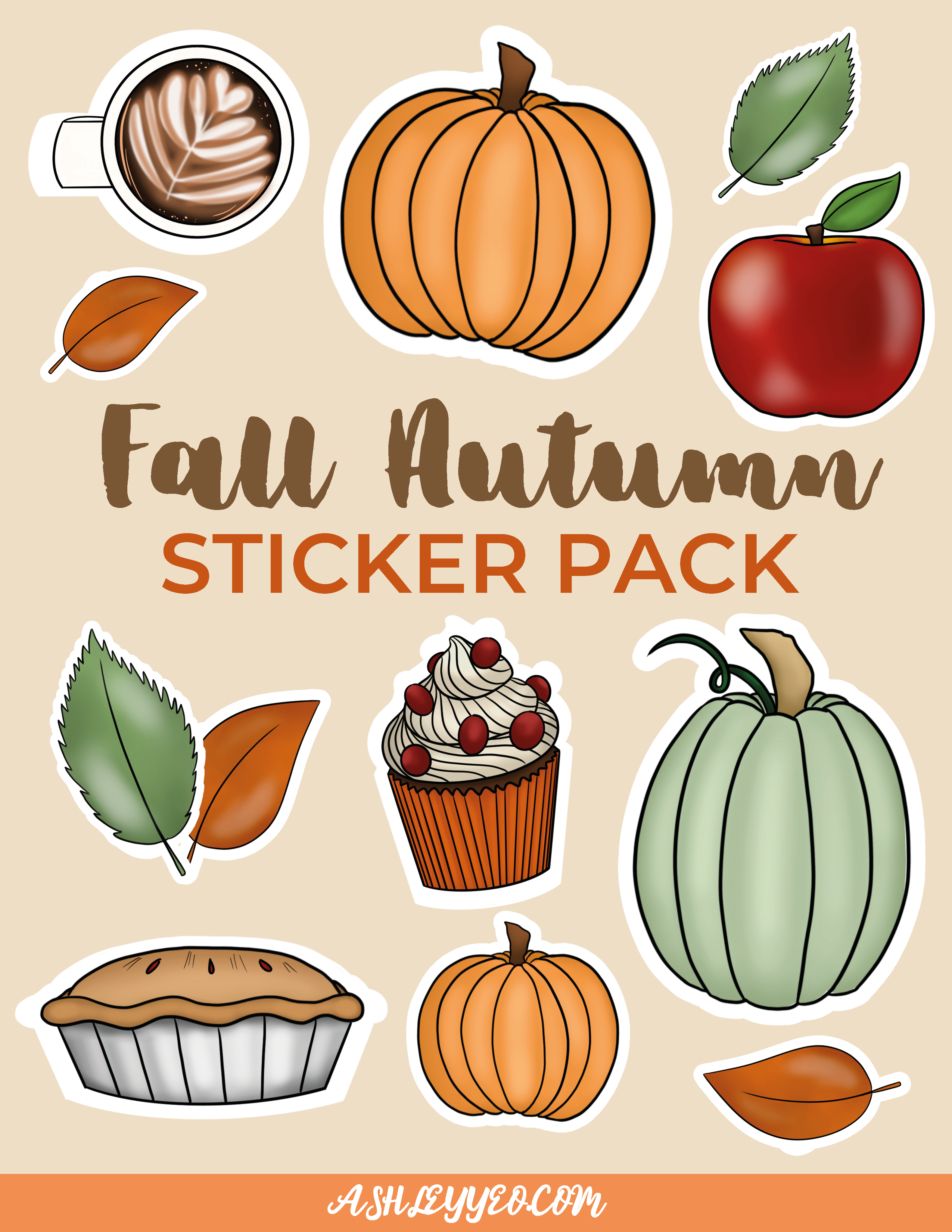 Awesome Autumn Stickers