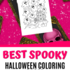 Spooky Halloween Coloring Pages